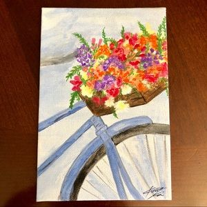 Other - Flower Painting on mini canvas